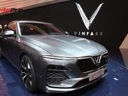 Les premières voitures fabriquées au Vietnam présentées à Paris
