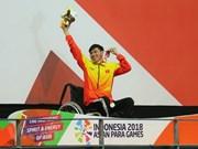 Asian Para Games 2018: le nageur Vo Thanh Tung décroche une autre médaille d'or