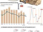 [Infographie] Exportation de riz: passage de la quantité à la qualité