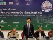 Plus de 2.500 coureurs participeront au marathon international du patrimoine de Hanoi