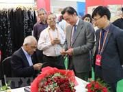 Des entreprises vietnamiennes participent au 6e Salon international de soie de l'Inde
