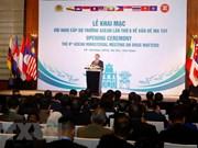 Ouverture de la 6e conférence ministérielle de l'ASEAN sur la drogue à Hanoï
