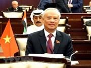 Le Vietnam s'engage à promouvoir le rôle de l'AN dans la consolidation de la paix
