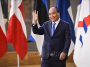 Le Premier ministre Nguyen Xuan Phuc à l'ouverture du 12e Sommet Asie-Europe