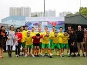 Tournoi de football amical à l'occasion des 45 ans des relations diplomatiques Vietnam – Australie