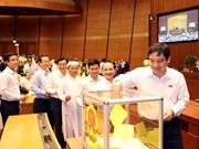 Deuxième journée de travail de l'Assemblée nationale