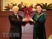 Des dirigeants étrangers félicitent le président du Vietnam Nguyen Phu Trong