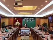La Commission du contrôle du Comité central du Parti tient sa 30e réunion