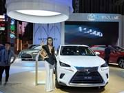 Le salon de l'automobile du Vietnam 2018 démarre à Ho Chi Minh-Ville