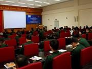 Formation sur le droit international humanitaire à des casques bleus vietnamiens