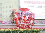 Un échange culturel pour resserrer les liens d'amitié vietnamo-japonais à Tra Vinh