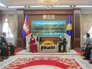 Vietnam et Cambodge intensifient leur coopération multiforme