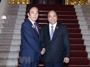 Le Premier ministre reçoit le gouverneur de la préfecture japonaise de Saitama