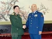 Coopération de défense, pilier des relations Vietnam-Chine