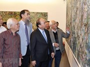 Le PM rend visite au musée des Beaux-arts du Vietnam