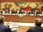 Le vice-président de l'AN Phung Quoc Hien reçoit une délégation européenne