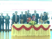 AVC : l'hôpital général de Phu Tho coopère avec un hôpital britannique