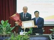 Le golfeur australien Greg Norman est l'ambassadeur du tourisme au Vietnam pour 2018-2021