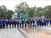 Hanoï : commémoration du 101e anniversaire de la Révolution d'Octobre russe