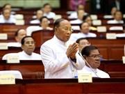 Un mémoire du président de l'Assemblée nationale du Cambodge Heng Samrin voit le jour