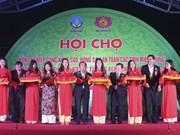 Promotion de l'agriculture high-tech et des produits agricoles sécuritaires dans le Centre