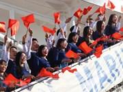 Le bateau de la jeunesse ASEAN-Japon 2018 arrive à HCM-Ville
