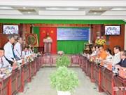 Soc Trang accueille une délégation cambodgienne