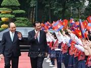 Le Premier ministre cambodgien termine sa visite officielle au Vietnam
