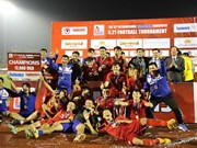 Football : U21 du Vietnam remporte le tournoi U21 du journal Thanh Nien 2018