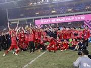 Football : le Vietnam conserve sa place dans le top 100 mondial