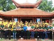 Programme d'échange international pour jeunes à Binh Phuoc