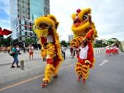 Ouverture du 2e Festival de la licorne, du lion et du dragon de Ho Chi Minh-Ville