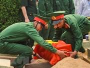 Une base de données nationale pour accélérer la recherche des restes des soldats
