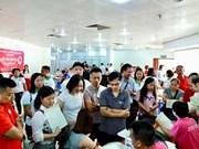 Fête du printemps rouge : plus d'un millier d'unités de sang collectées à Thanh Hoa