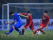 L'équipe du Vietnam part pour le Championnat d'Asie du Sud-Est de football U22