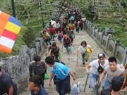 Quang Ninh : un nombre record de touristes à l'occasion du Nouvel an lunaire