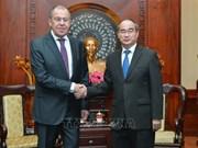 Booster la coopération entre Ho Chi Minh-Ville et les localités russes