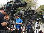 Les médias étrangers envoient du personnel pour couvrir le 2e Sommet Etats-Unis - RPDC