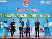 Journée des métiers et des emplois pour la jeunesse 2019 à Ninh Binh