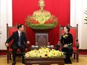 La fondation Soong Ching Ling contribue à consolider l'amitié Vietnam - Chine