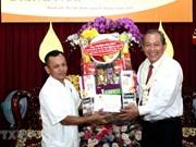 Têt Chol Chnam Thmay: un vice-Premier ministre félicite les Khmers à HCM-Ville