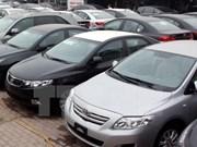 Les ventes de voitures importées en forte hausse