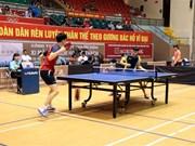 Un tournoi international de tennis de table commence à Hai Duong