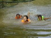 Aide internationale pour prévenir la noyade chez les enfants à Dong Thap