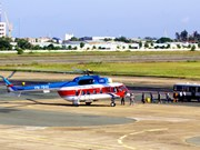 Ouverture de la ligne Vung Tau-Con Dao avec des hélicoptères