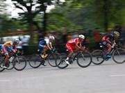 """Début de la course cycliste par étapes """"Direction Diên Biên Phu 2019"""""""