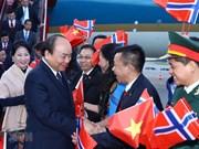 Le PM Nguyen Xuan Phuc entame une visite officielle en Norvège