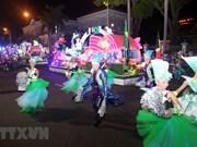 Le carnaval de rue à Da Nang animé et impressionnant