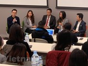 Les étudiants vietnamiens en Australie enthousiastes pour un concours de startup