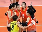 Ouverture du tournoi U23 de volley-ball féminin d'Asie